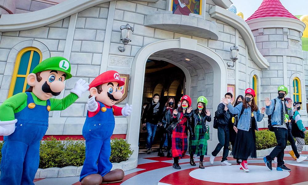 It's a Mario and Luigi! Credit: Universal Studios Japan