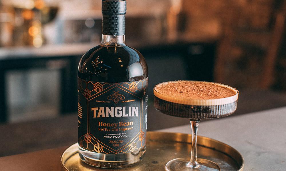 Tanglin Honey Bean Gin Liqueur. Credit: Singapore Tourism Board.