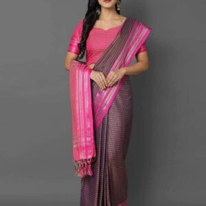 Magic Chex – Soft Cotton Weaving Sarees Catalogues