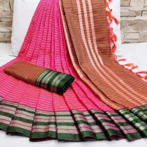 Soft_Cotton_Weaving_Sarees_Cotton_Sarees_Online_Shopping_Magic_Chex_Vatika_Fabrics_9