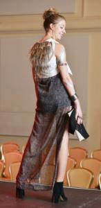 Winning dress designed by Lily Johnson of Georgia Southern University.