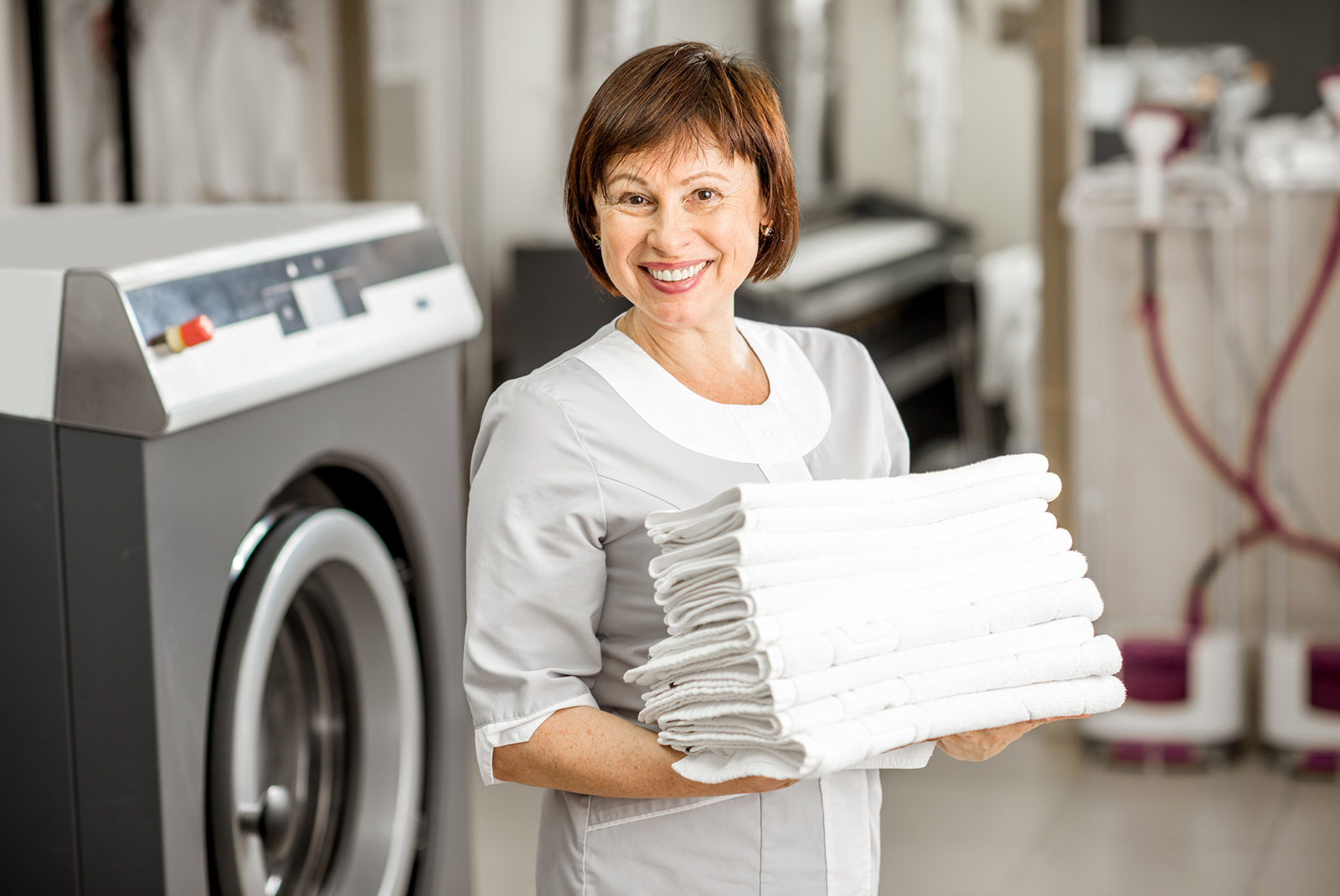 Full Commercial Laundry Service
