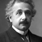 Figure 2. Albert Einstein.