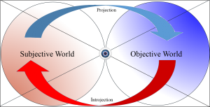 Fig. 1. Projection and Introjection