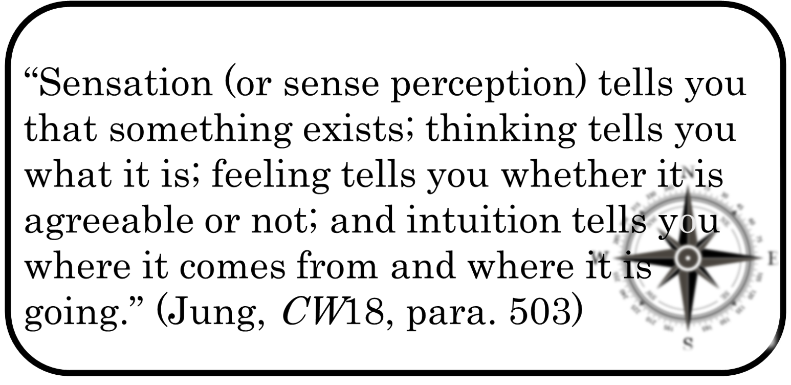 Jung-quote-typology