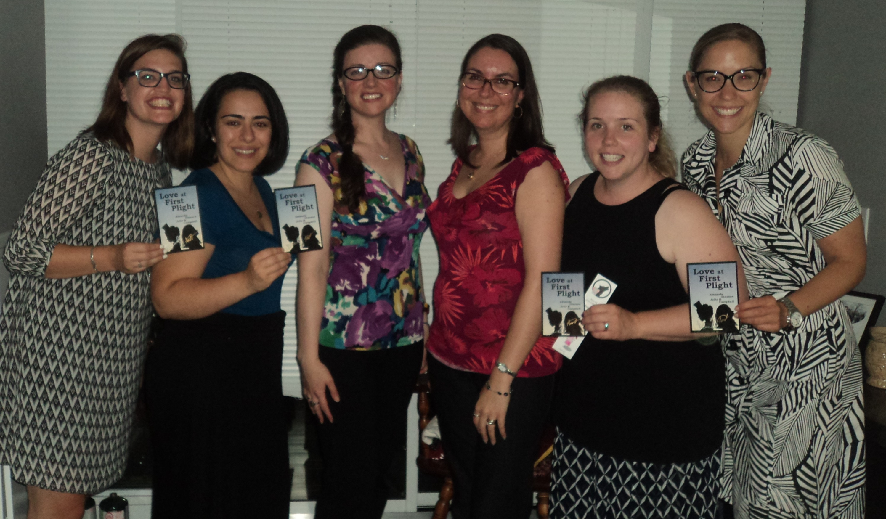 Book Club - Fun Edition - Perspective Love at First Plight August 18 2015