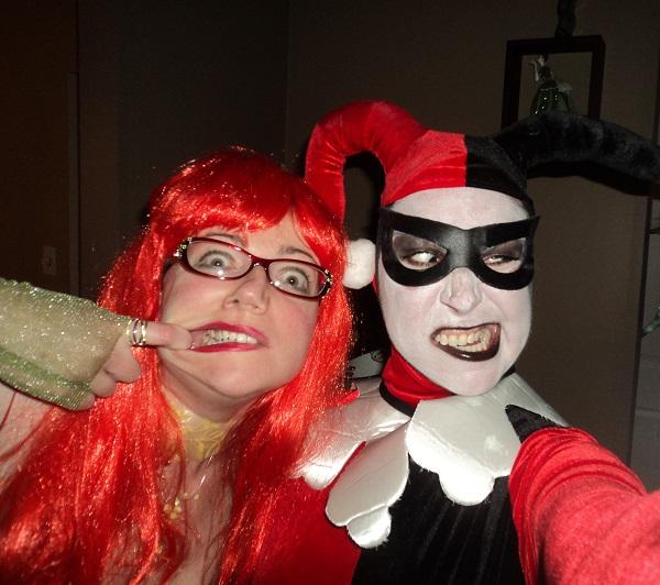 Ivy (Julie) & Harley (Amanda) - Halloween 2013