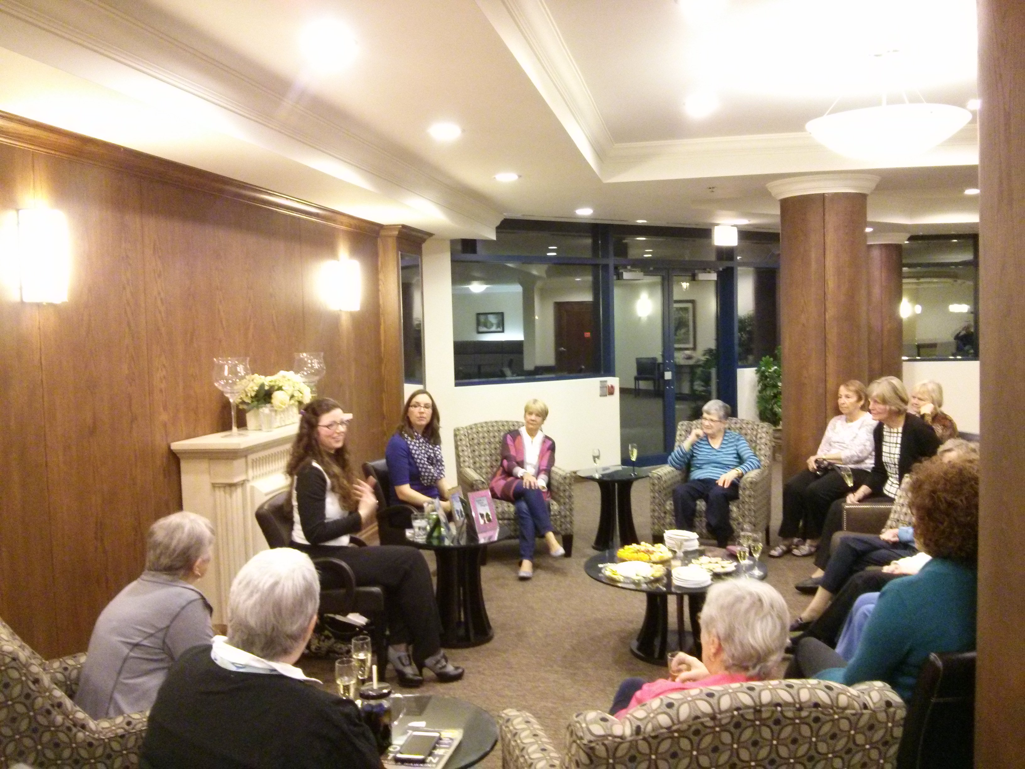 Nautica Book Club - Nov 11, 2015 (group discussion)