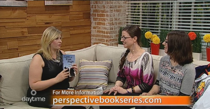 Perspective Book Series Authors Amanda Giasson and Julie B. Campbell with Jennifer Gordon on Daytime