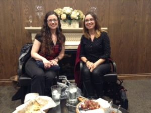 Perspective Series Authros - Julie B. Campbell & Amanda Giasson - Nautica Book Club, November 2016