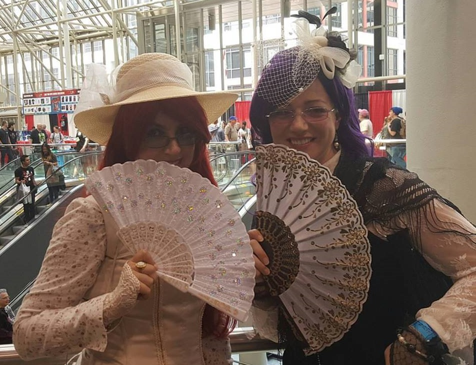 Amanda Giasson & Julie B. Campbell to cosplay at Elmvale Sci-Fi Fantasy Street Party