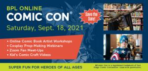 BPL Comic Con 2021 Festival
