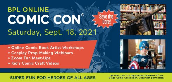BPL Comic Con 2021 Virtual Festival