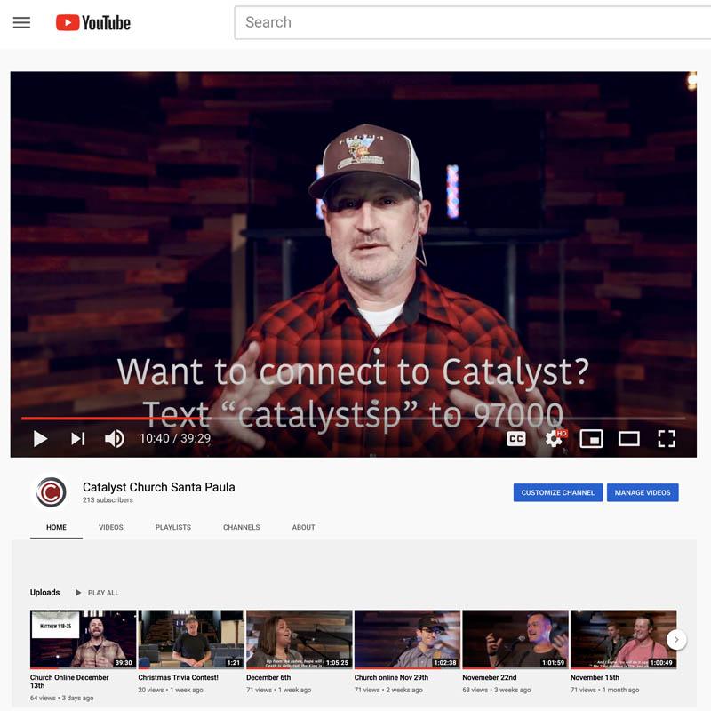 Catalyst-Church-Youtube