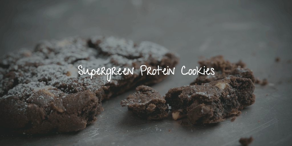 Supergreen Protein Cookies