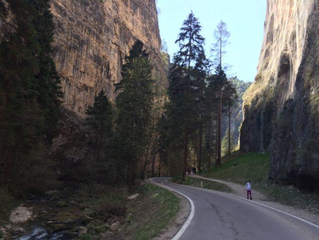 italiainpiega-pieghe meravigliose-itinerari moto nord italia-val di non-forra san romedio