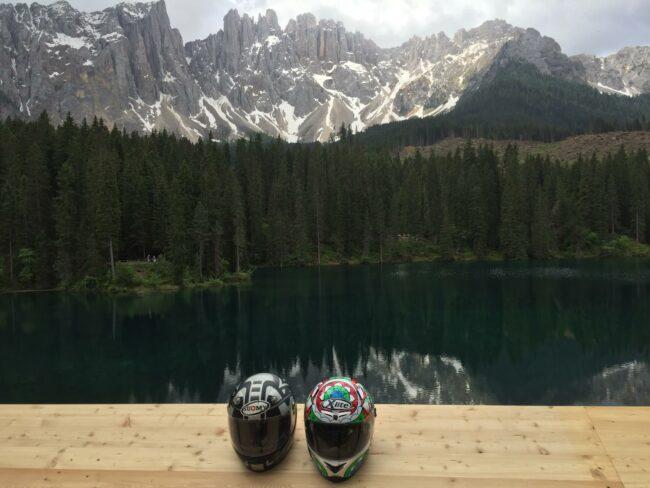 italiainpiega-pieghe meravigliose-itinerari moto nord italia-lago di carezza