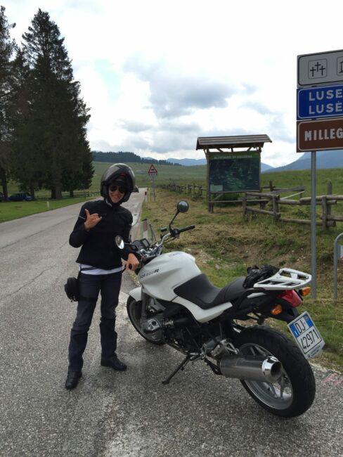 italiainpiega-itinerari moto nord italia-alpe cimbra-passo vezzena