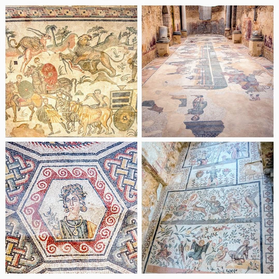 italiainpiega-pieghe meravigliose-itinerari moto sud italia-sicilia orientale-villa romana del casale