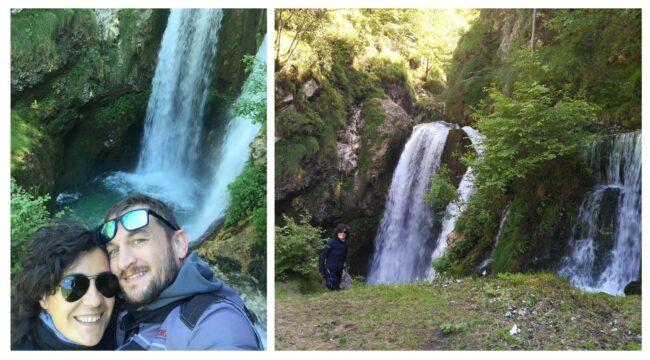 italiainpiega-pieghe meravigliose-itinerari moto nord italia-cascata della civetta 3