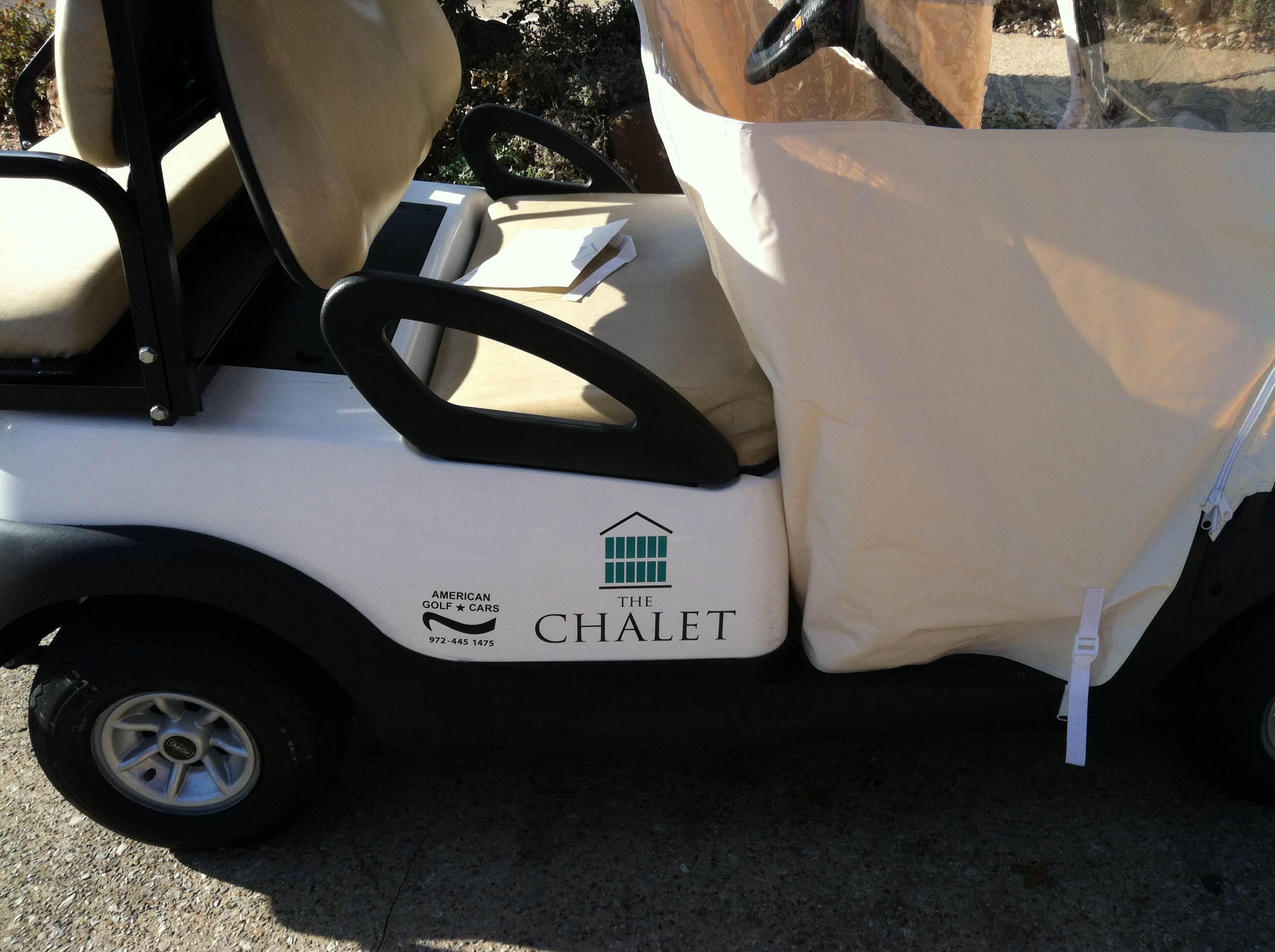 Golf Cart Decals in Irving TX