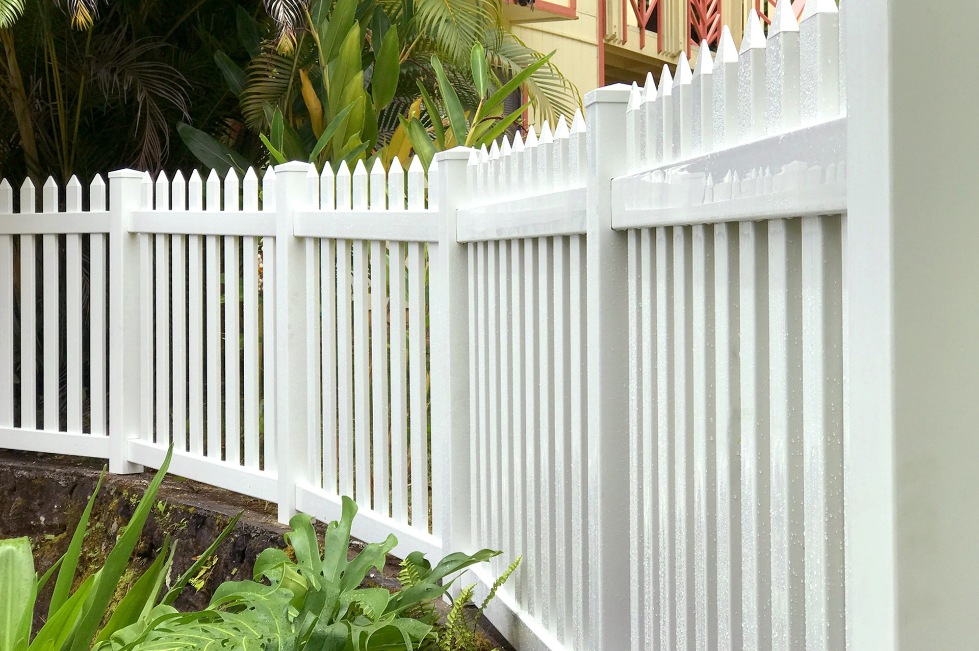 """Mike Fencing did an awesome job. Very professional, cleaned up well, and worked fast."""