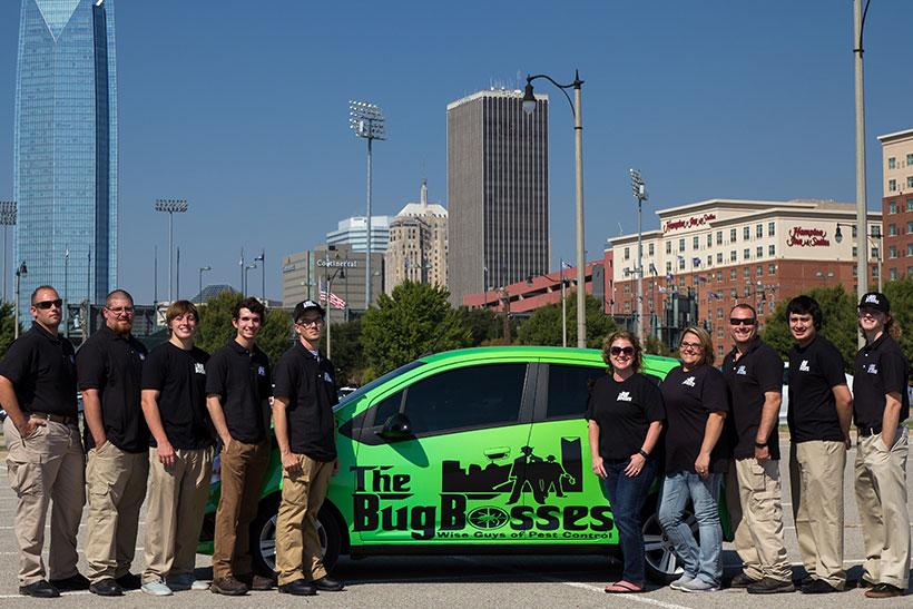 The Bug Bosses crew