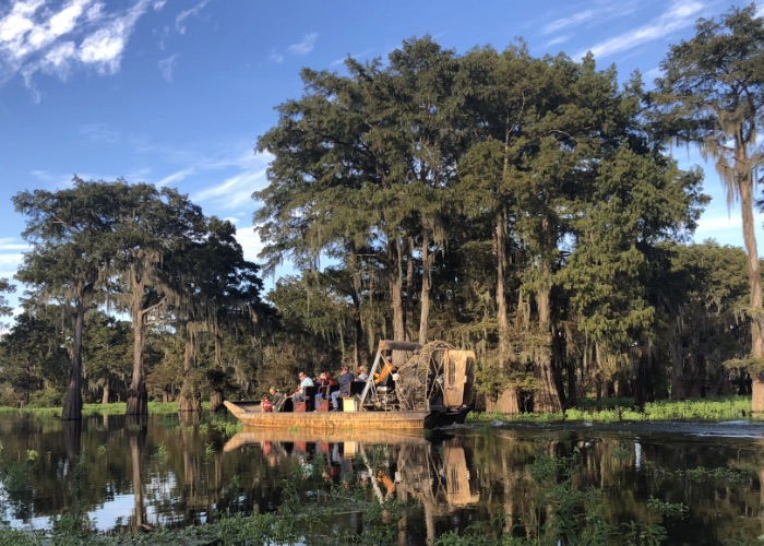airboat swamp tours