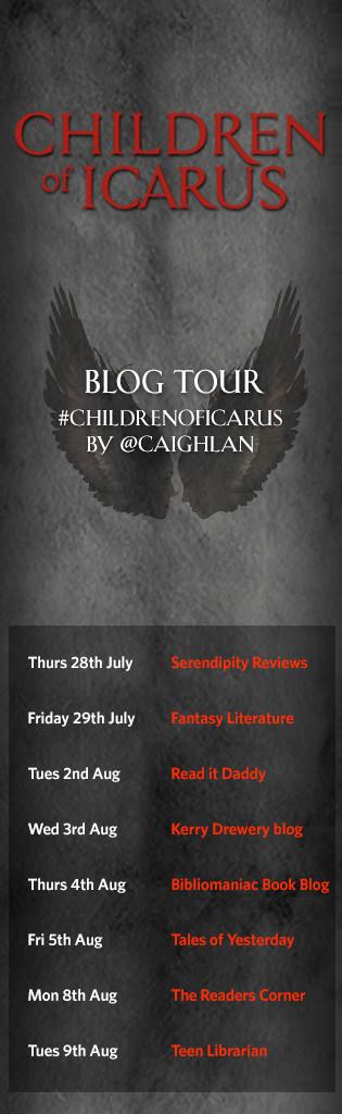 Children of Icarus BLOG TOUR IMAGE