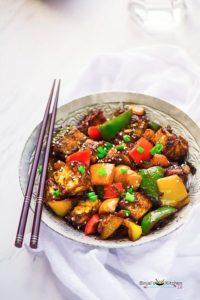 Chilli Paneer (Indo-Chinese)