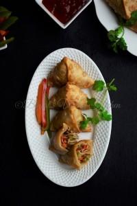 Chinese Noodles Samosa