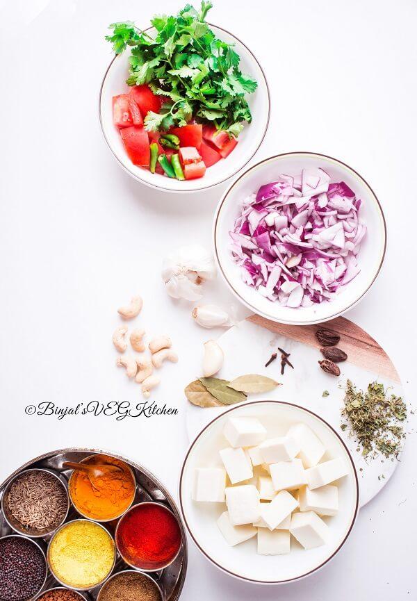 Paneer Makhani Recipe