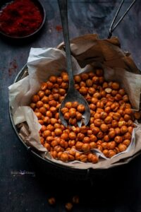Roasted BBQ Chickpeas