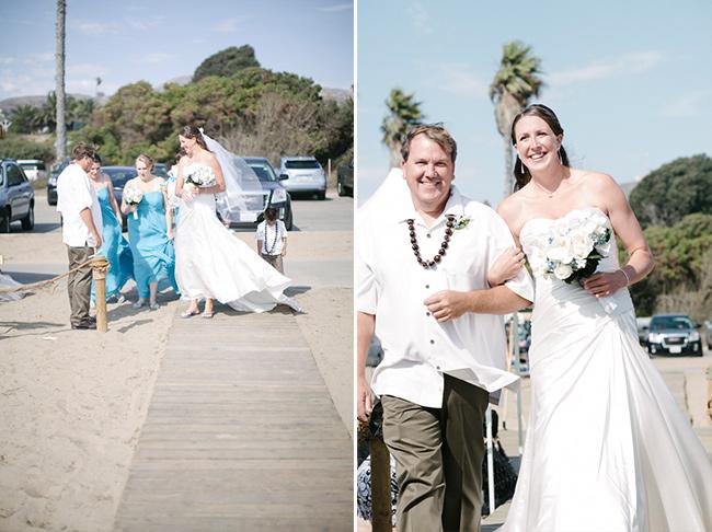 wedding at beach in ventura