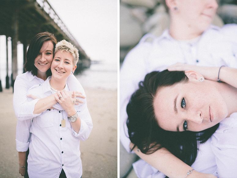 same sex engagement photographer ventura county