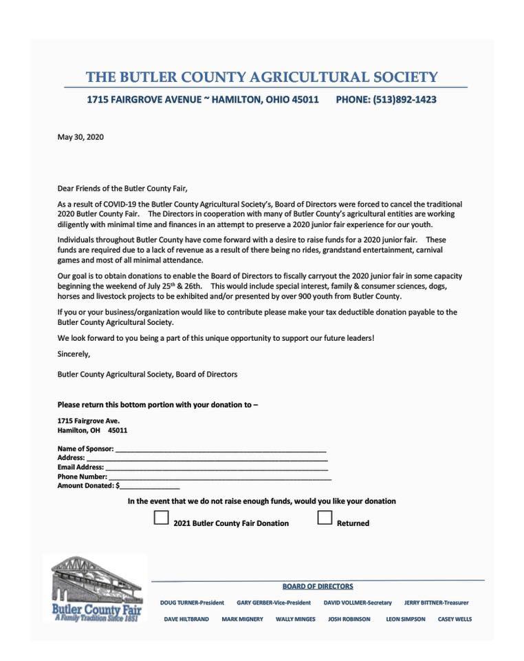 Sponshorship Letter 6.10.20