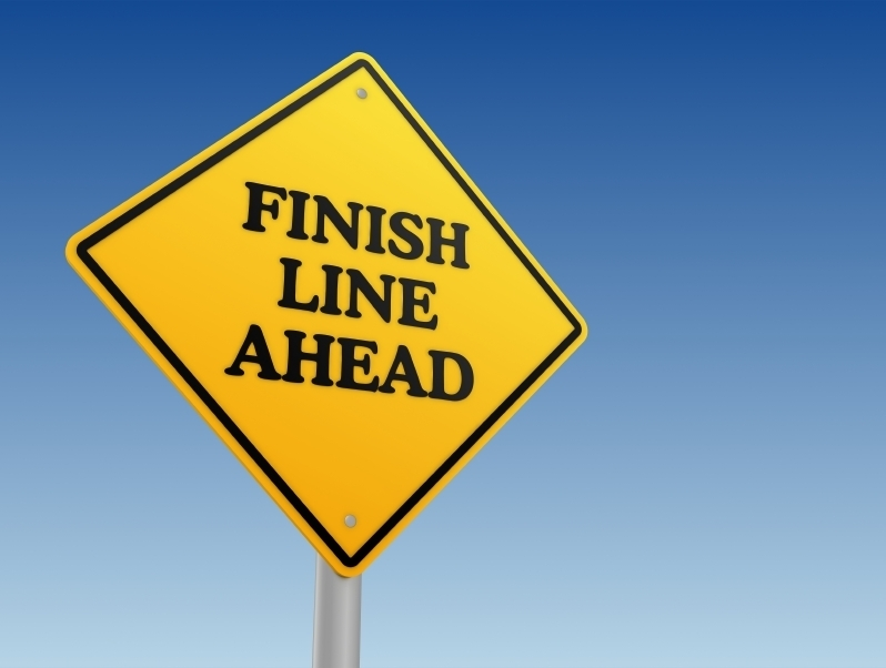 Finish Line Sign  iStock_000022670217Small