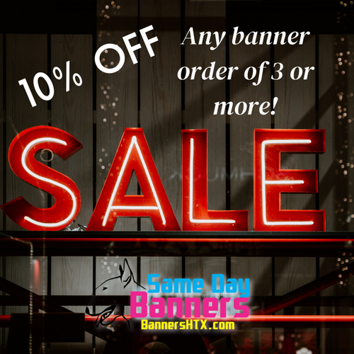 october sale on banners