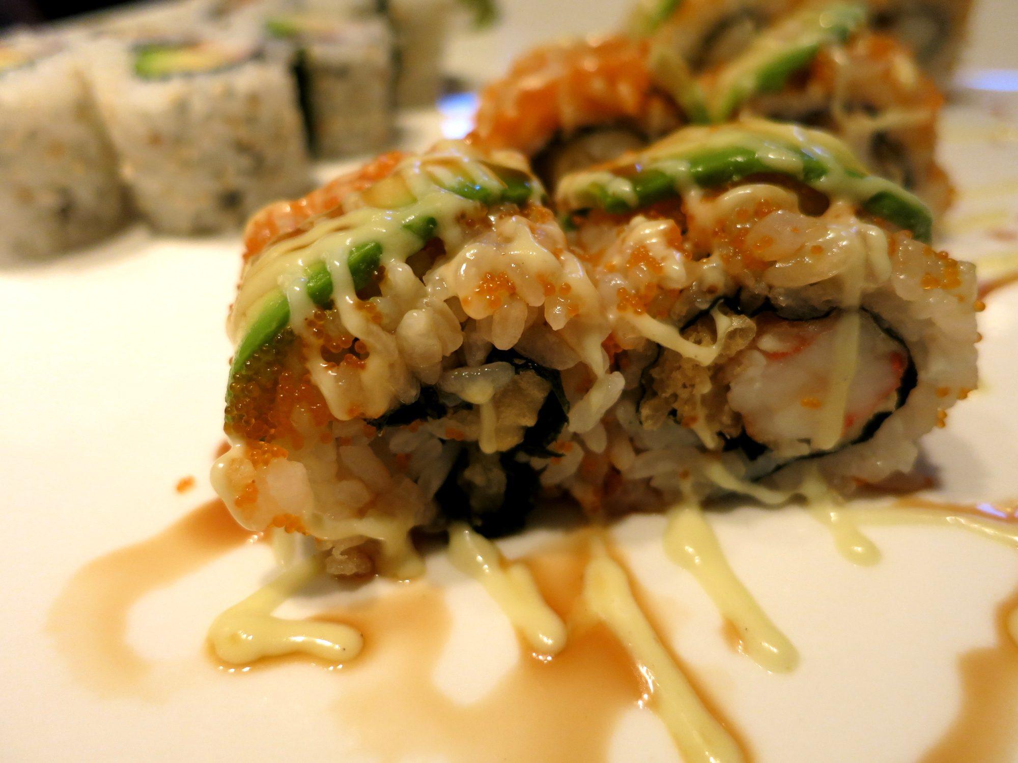 Akitsu may be the best sushi in Amsterdam. We sampled sashimi, sushi rolls and small dishes including the agedashi tofu and gyoza.