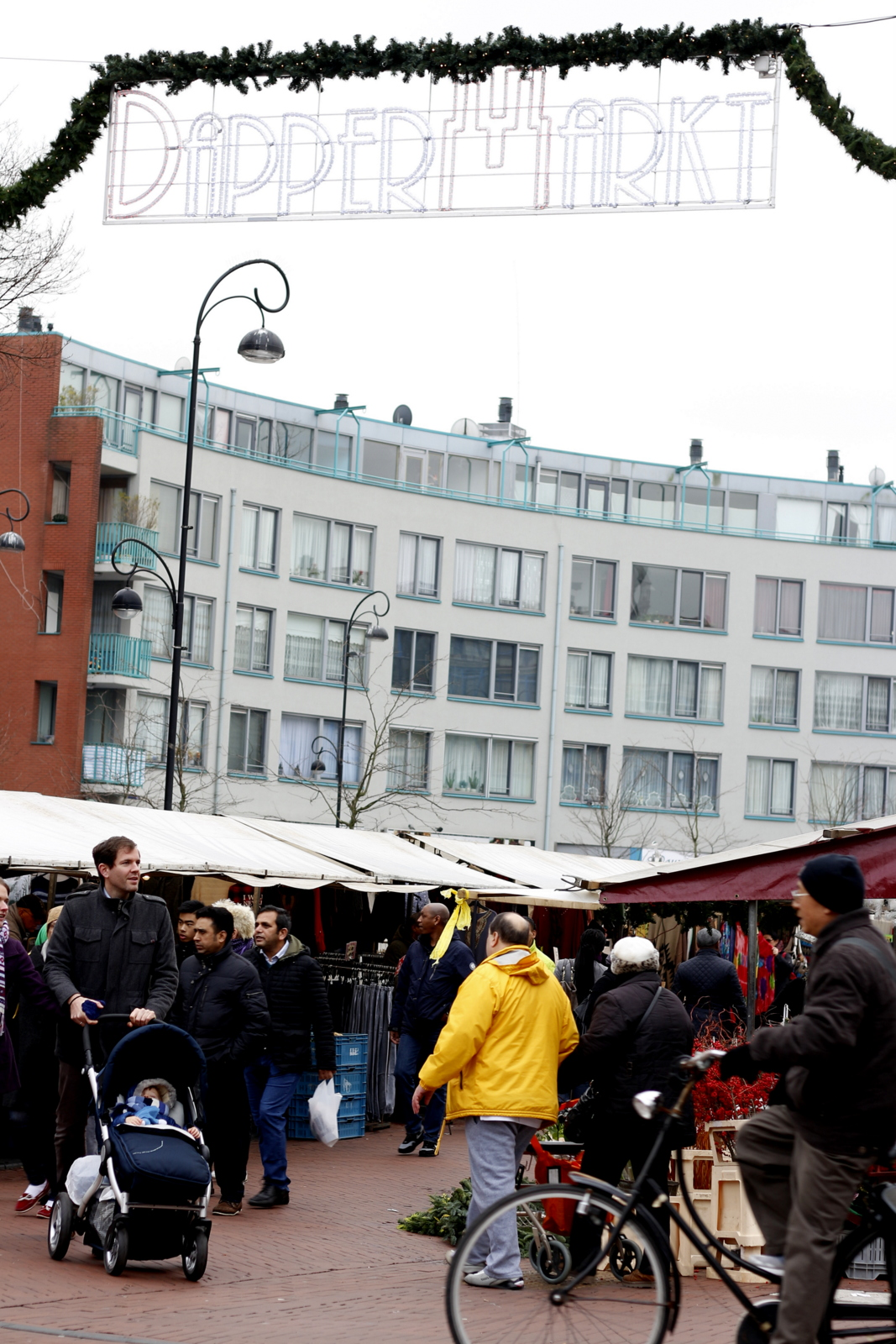 Dappermarkt: From vegetables to bicycle parts to cheese to vintage clothing, there is something for everyone at Amsterdam's weekly street markets.