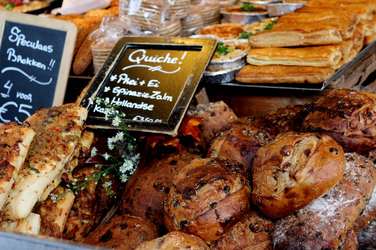 Best bakeries in Amsterdam: Head to one of our favorite Amsterdam bakeries for something hot out of the oven! Le Perron awesomeamsterdam.com