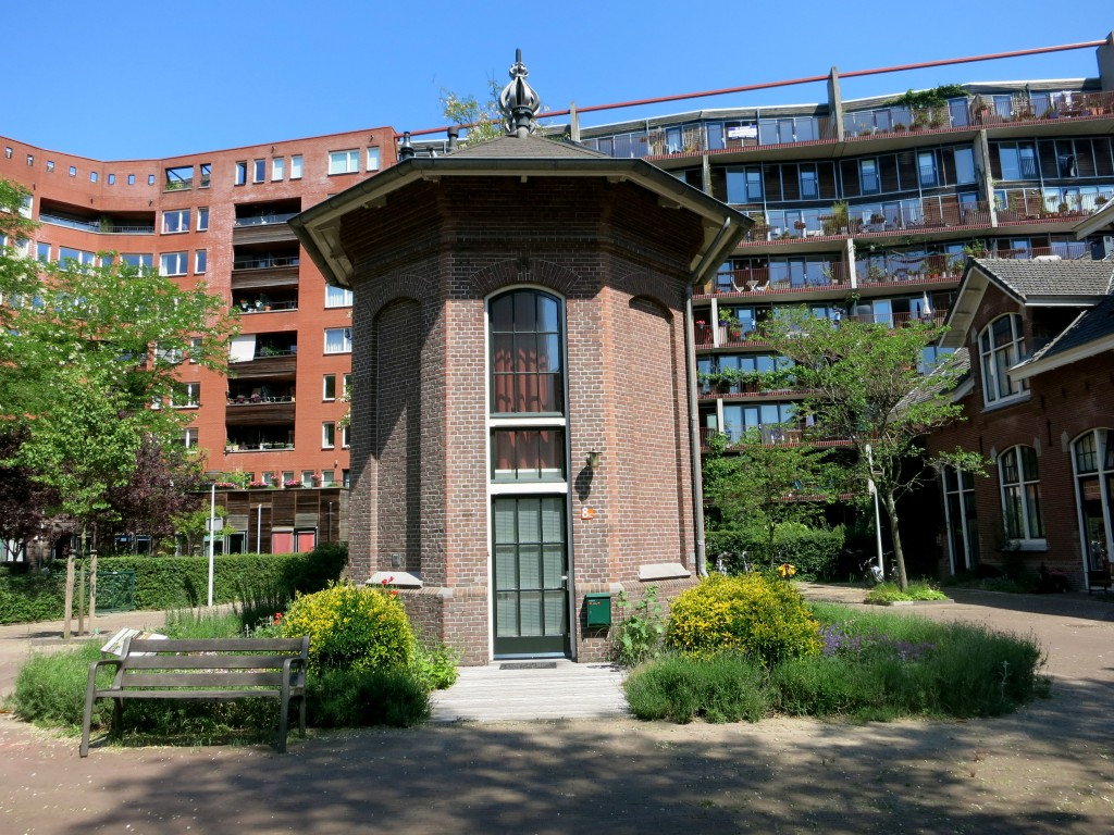 AMSTERDAM SECRET PLACES - Hotel de Windketel was built in 1897 as part of Amsterdam's water works and is now a tiny hotel.