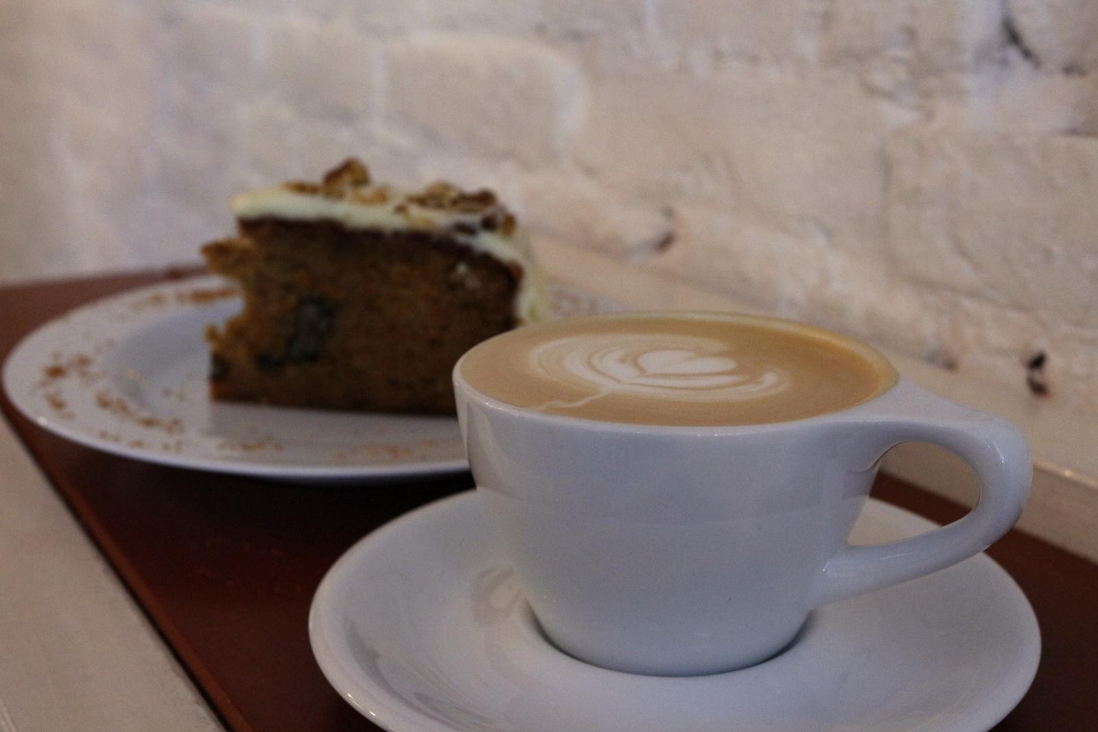 Scandinavian Embassy Amsterdam, coffee and carrot cake