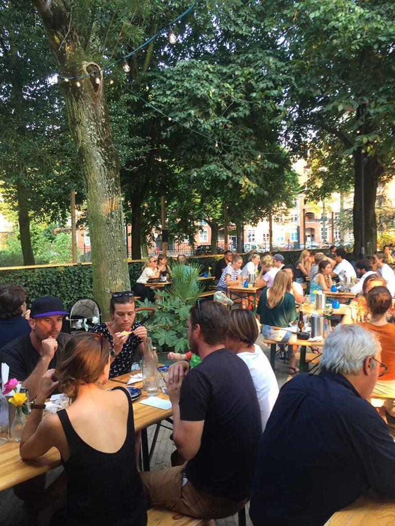 BEST GARDEN CAFES IN AMSTERDAM - drink & dine in a leafy garden
