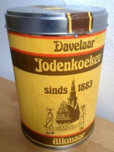 Jodenkoeken are yummy shortbread cookies typically packaged in large tin cans. They are on the list of 10 Dutch foods you should try.