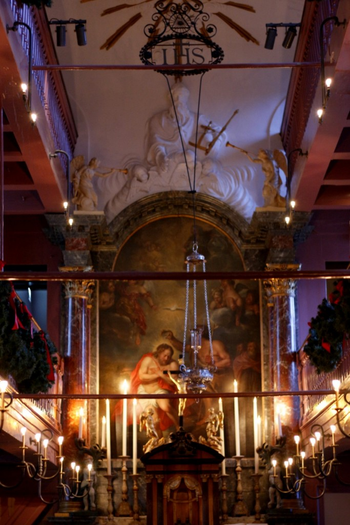 Our Lord in the Attic museum. Ons Lieve Heer op Solder is a 17th century house with a Catholic church hidden in the attic in Amsterdam. The building is now a wonderful museum where you can visit the original canal house and the secret church. One of Amsterdam's hidden places.