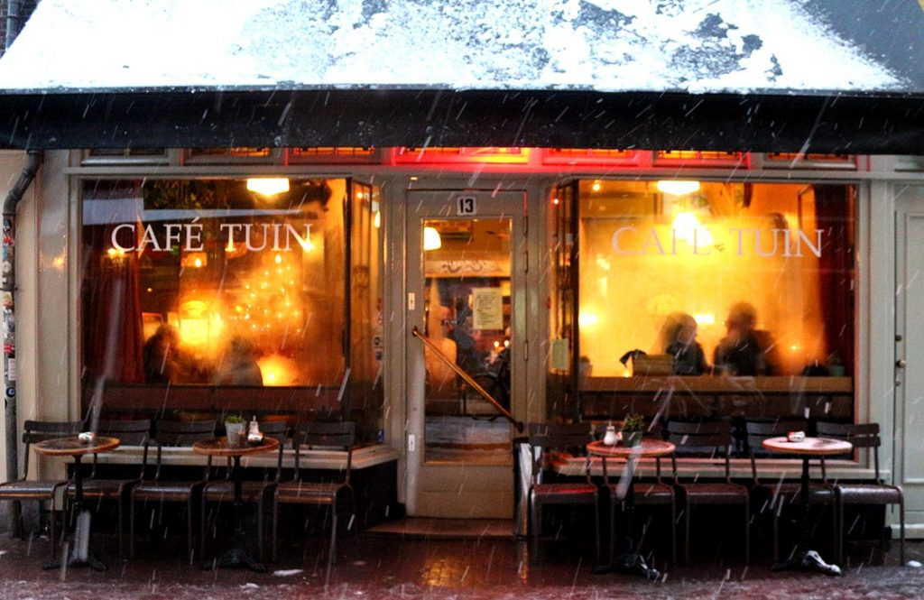 Amsterdam coziest cafes and bars - cafe de tuin