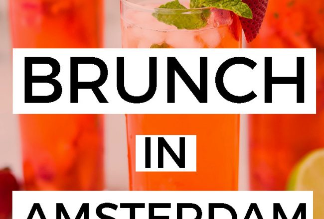 PLACES TO HAVE BOOZY BRUNCH IN AMSTERDAM