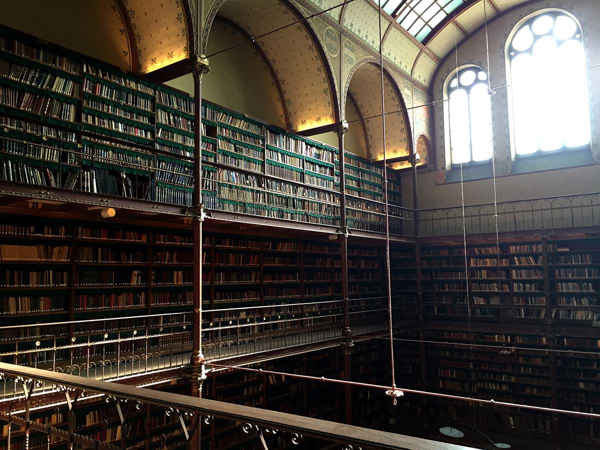 Coolest Libraries in Amsterdam- Rijksmuseum library