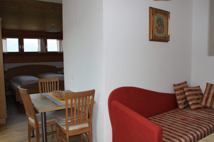 Apartmento Latemar, Schlafcouch